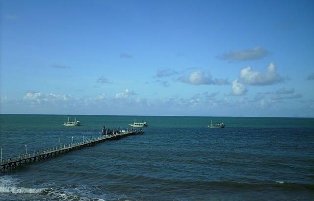 Praia de Pirangi do Sul.