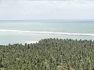 Linda vista da Praia do Gunga