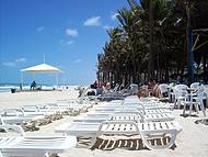 praia do Beach Park, diante do parque aqu�tico