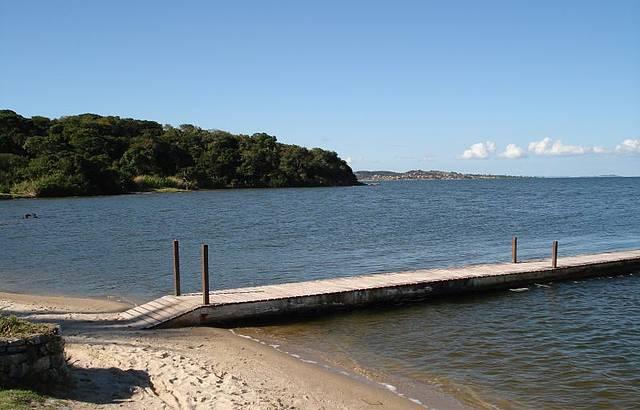 É só trazer o barco! A paisagem a gente tem.
