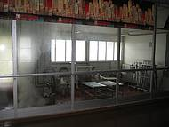 A fabricaçaõ de queijos... pode ser visto por todos os visitantes
