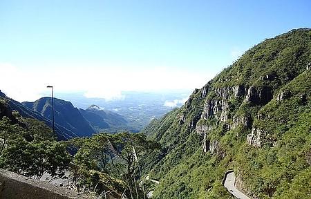 Serra do Rio do rastro - Vista da Serra