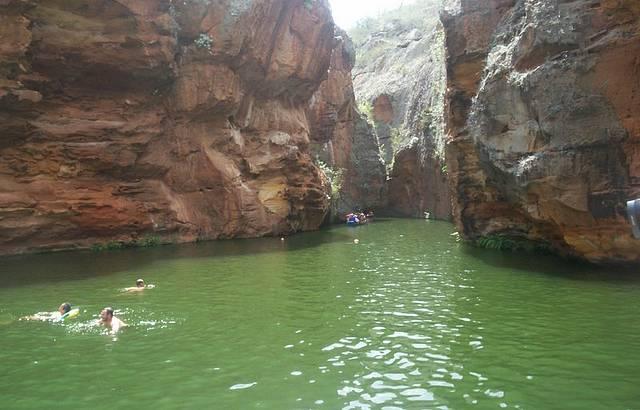 Banho nas �guas do Rio S�o Francisco