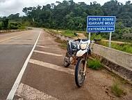 Passeio de moto; Santarém x Rurópolis