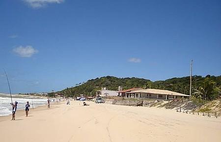 Praia do Sagi - Pesca esportiva
