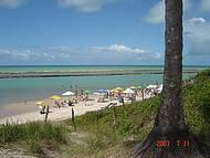 Vista da praia de Muro alto