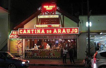 Portal de Poços de Caldas,Fachada da Cantina do Araújo