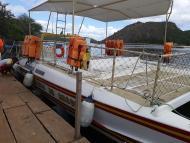Catamarã exclusivo para Cânion do Xingó