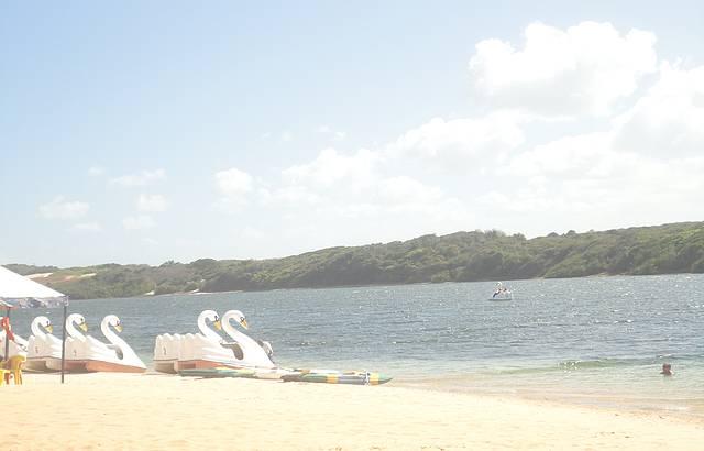 Meio da tarde Lagoa de Arituba