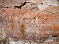 Pintura rupestre da Serra das Paridas
