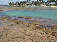 Piscinas naturais na praia de Porto de Galinhas