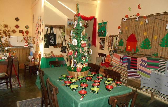 Casa do Papai Noel no Caminho do Artesanato