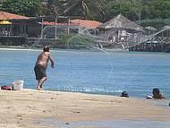 Pescador rio Cocó