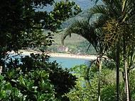 Vista da praia Cocanha