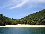Praia dos Meros é deserta!