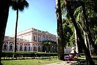 Palacete é cartão-postal da cidade serrana