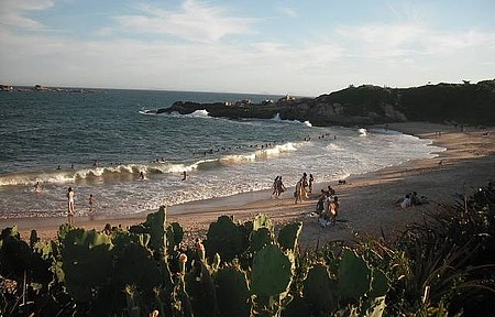Praia da Costa Azul - Dia Lindo de Sol