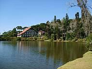 Vista do Lago Negro em Gramado