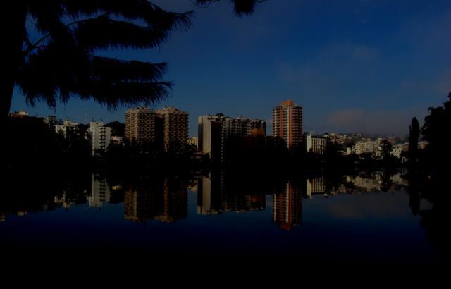 Cidade  ao amanhecer
