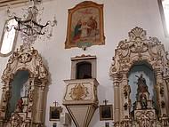 Igreja de N. S. da Piedade, detalhe do p�lpito