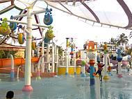 Área destinada aos pequenos: Acqua Circo