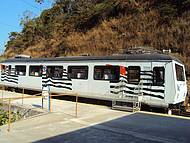 Trem de turismo que vai atéSto. Antônio do Pinhal