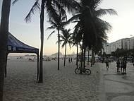 Praia do Leme e o Calçadão