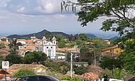 Montanhas de Minas, cenas da cidade