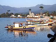 Embarcações partem do Centro