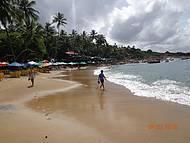 Praia de Calhetas.