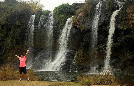 Entre serras e cachoeiras - Trilhas .... a busca do belo !
