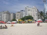 Vista de copacabana