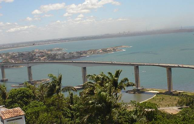 Vista do Alto do Convento da Penha - 3ª Ponte