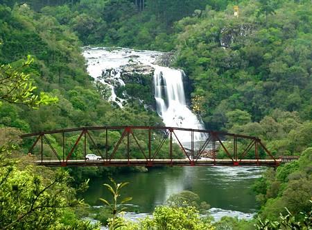 Parque da Cachoeira - Por todos os lados, visual encantador