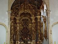 Lindo altar em ouro.