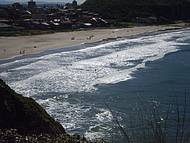 Praia da Cal vista do Morro das Furnas