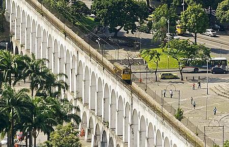 Roteiros Geográficos - Arcos da Lapa fazem parte dos tours