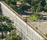 Arcos da Lapa fazem parte dos tours