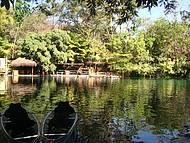 O lago nos transporta ao romantismo...