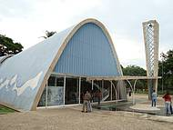 Igreja da Pampulha. Linda construção.