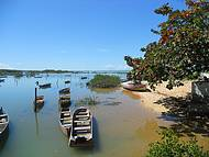 Encontro Rio Tiba com o mar