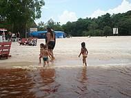 Praia da Lua, às margens do Rio Negro!