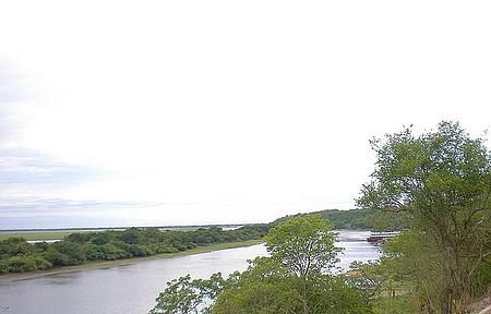Canal do Tamengo - Vista do Canal ao Entardecer, desde o Parque Marina Gattass