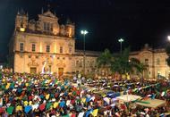 Barraquinhas tomam conta do Centro Histórico