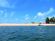 Praia do Gunga, imperdível...