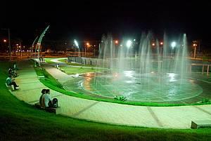 Praça da Fonte: Áreas verdes são pontos de encontro<br>