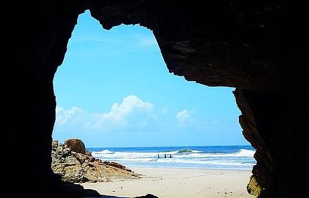 Ilha do Mel - Gruta da Encantada