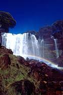 Cachoeira do Acaba Vida: 36 metros de beleza<br>