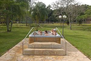 Ao ar livre: Relax para toda a família nas banheiras de água quente -