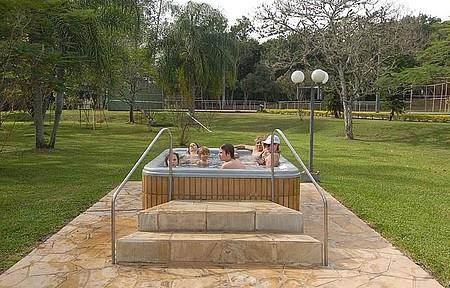 Ao ar livre - Relax para toda a família nas banheiras de água quente